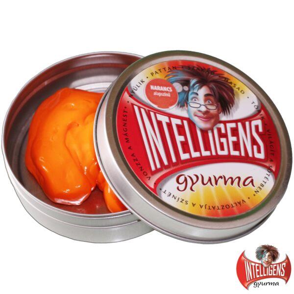 Intelligens Gyurma, narancs