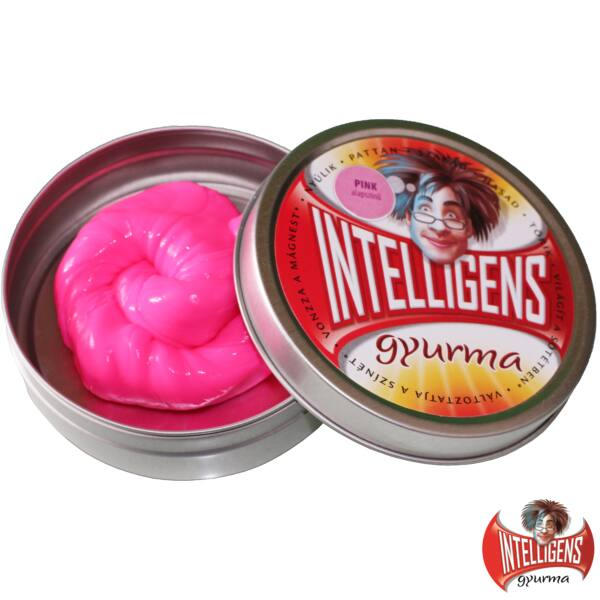 Intelligens Gyurma, pink