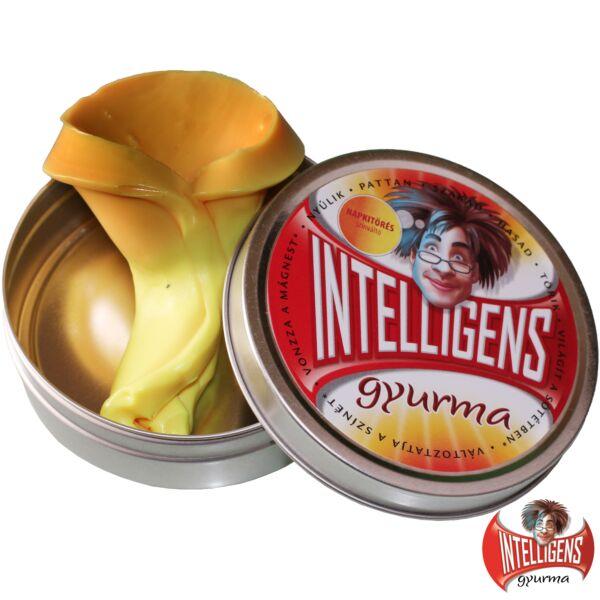 Intelligens Gyurma, napkitörés