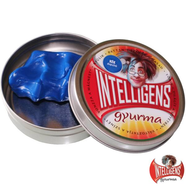 Intelligens Gyurma, kék